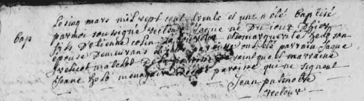 1731 COLIN Jacque (B)